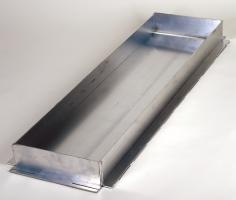 Einbauwanne Aluminium
