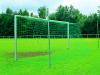 Fußballtor mit freier Netzaufhängung