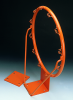 Basketball Ring DIN EN 1270 with net suspension hooks