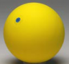 Gymnastic Ball WV 16cm yellow