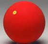 Gymnastikball WV 16cm rot