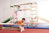 Children play and gymnastic equipment