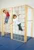 Climbing frame foldable 4-sections