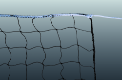 Beach-Volleyball Leisure Net Polyethylene
