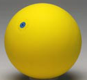 Gymnastic Ball WV 19cm yellow