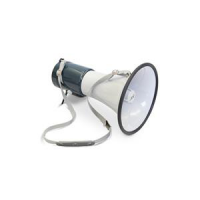 Megaphone for starting pistol electric